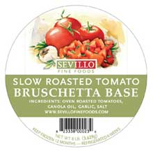 Slow Roasted Bruschetta Base
