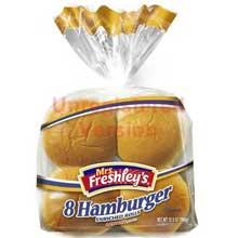 3 3/4 inch Hamburger Bun