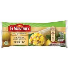 Signature Egg Sausage Cheese and Potato Burrito