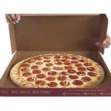Bold Presliced Pepperoni Pizza