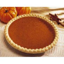 Baked No Sugar Added Pumpkin Pie