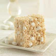 Chewy Marshmallow bar with Brown Butter and Sea Salt