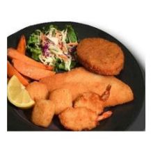Breaded Seafood Combination