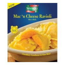 Mac and Cheddar Cheese Ravioli