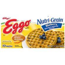 Nutri Grain Blueberry Waffles