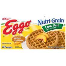 Nutri Grain Low Fat Whole Wheat Waffles