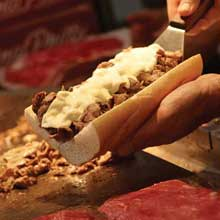 Beef Sirloin Tip Original Philadelphia Cheesesteak