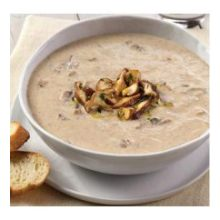Mushroom Brie Bisque with Madeira Wine Soup