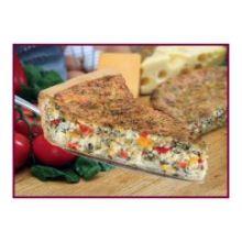 6 Cut Deep Dish Florentine Quiche
