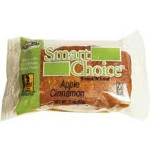 Wholegrain Apple Cinnamon Snack N Loaves