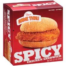 Spicy Breaded Chicken Sandwich
