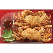 Soft Shell Tempura Battered Wild Caught Jumbo Crab