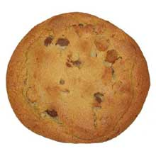 Super Size Peanut Butter Chocolate Chip Cookie