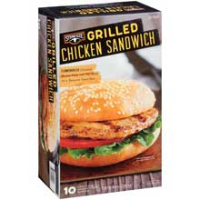 Grilled Chicken Sandwich 40 Ounce