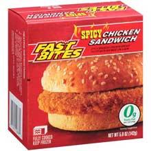 Spicy Chicken Sandwich 5 Ounce