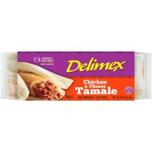 Single Wrap Chicken and Cheese Tamale