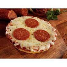 Whole Grain Turkey Pepperoni Pizza