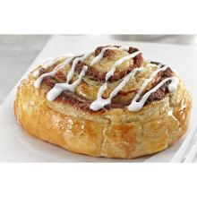 Pan N Bake Cinnamon Roll with Glaze and Icing