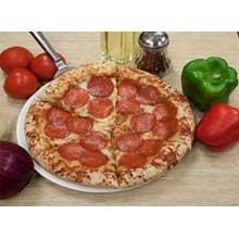 Live Dough Deep Dish Plain Pizza Crust with Folded Edge