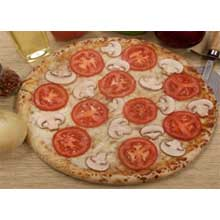 Flat Edge Garlic and Butter Chip Live Dough Pizza Crust