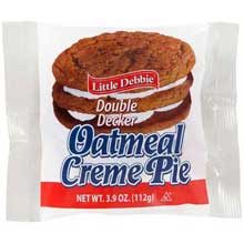 Vending Double Decker Oatmeal Creme Pie Mfg 89561