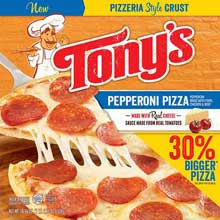 Pizzeria Style Pizza Pepperoni
