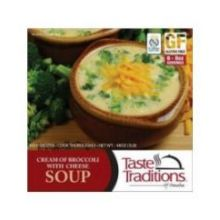 Gluten Free Cream of Broccoli with Cheese Soup