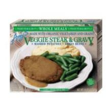 Veggie Steak and Gravy Whole Meal
