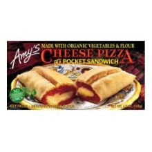 Cheese Pizza in a Pocket Sandwich