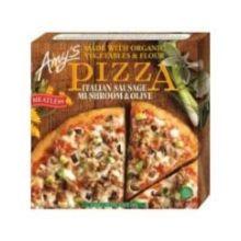 Italian Sausage Mushroom and Olive Pizza
