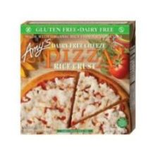 Single Serve Non Dairy Rice Crust Cheeze Pizza