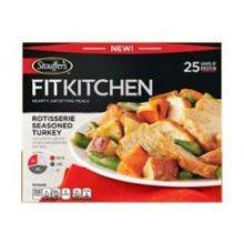 Fit Kitchen Rotisserie Seasoned Turkey Meal