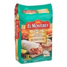 Signature Chicken and Monterey Jack Cheese Burrito
