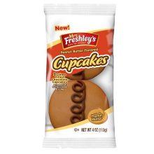 Peanut Butter Chocolate Cupcake 4 Ounce