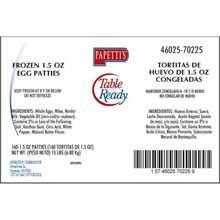 Round Egg Patty