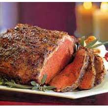 Boneless No Rub Raw Beef Strip Loin