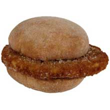 CN Mini Single Breaded Chicken Sandwich