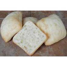 Baking Sliced Small Ciabatta Roll