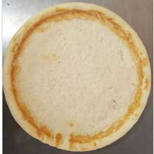 Gluten Free Plain Extra Protein with Raised Edge Pizza Crust