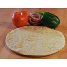 Gluten Free Seasoned Extra Protein Pizza Crust
