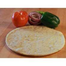 Plain Gluten Free Extra Protein Pizza Crust