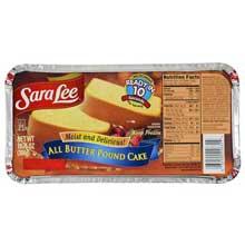Pound Cake 10.75 Ounce