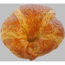 Raw Curved Butter Croissant 3.7 Ounce