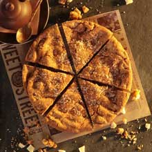 Salted Caramel Cookie Pie