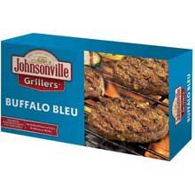 Buffalo Bleu Bratwurst Patties