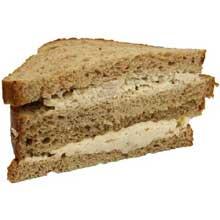 Chicken Salad Wedge Sandwich
