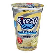 FReal Cake Batter Milkshake at FoodServiceDirect