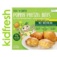 Egg N Cheese Poppin Pretzel Bites
