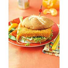 Spicy Sandwich Portions Oven Ready Breaded Pollock