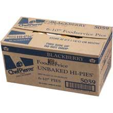 Chef Pierre Unbaked Blackberry Hi Pie 10 inch